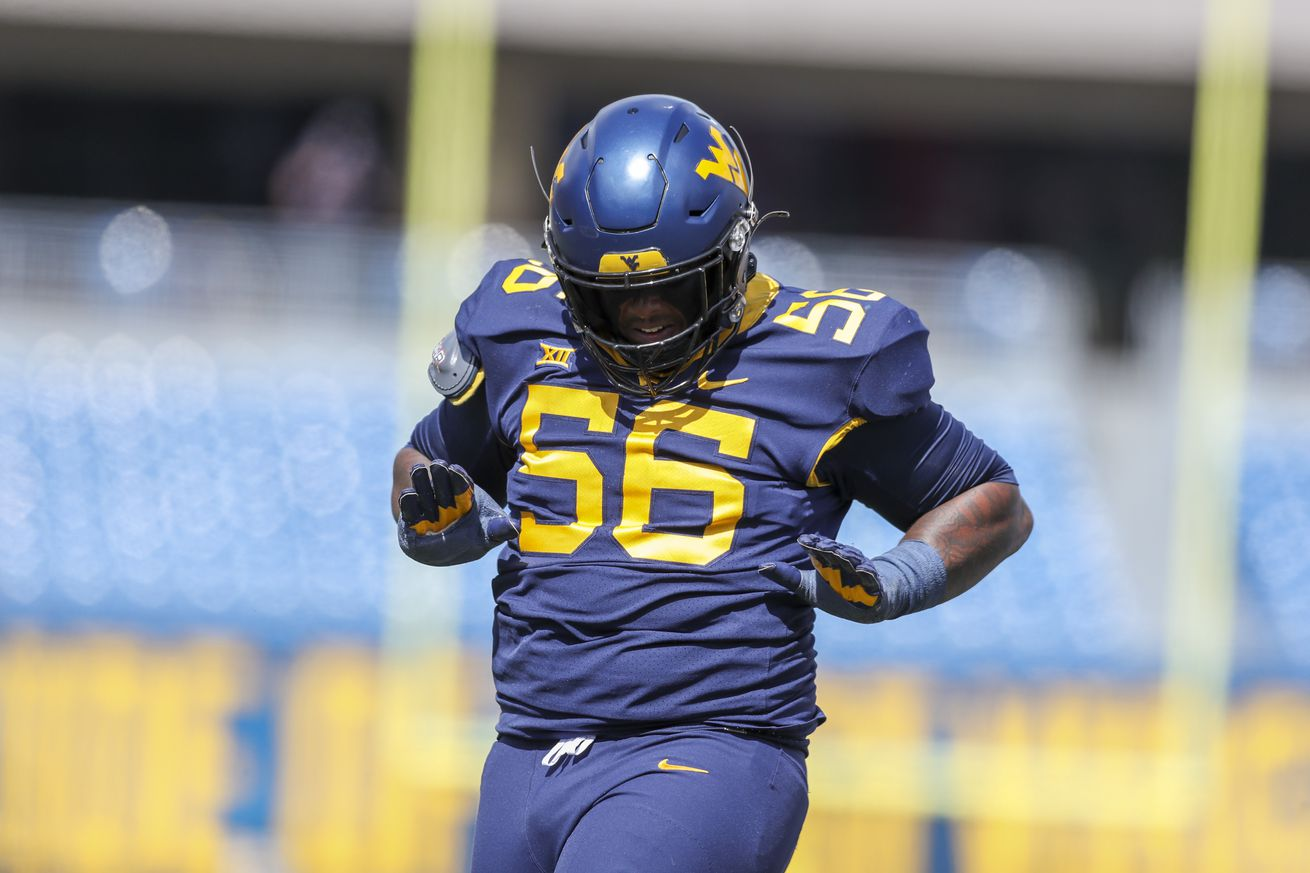 West Virginia defensive lineman Darius Stills signing with the Las Vegas Raiders as an undrafted free agent