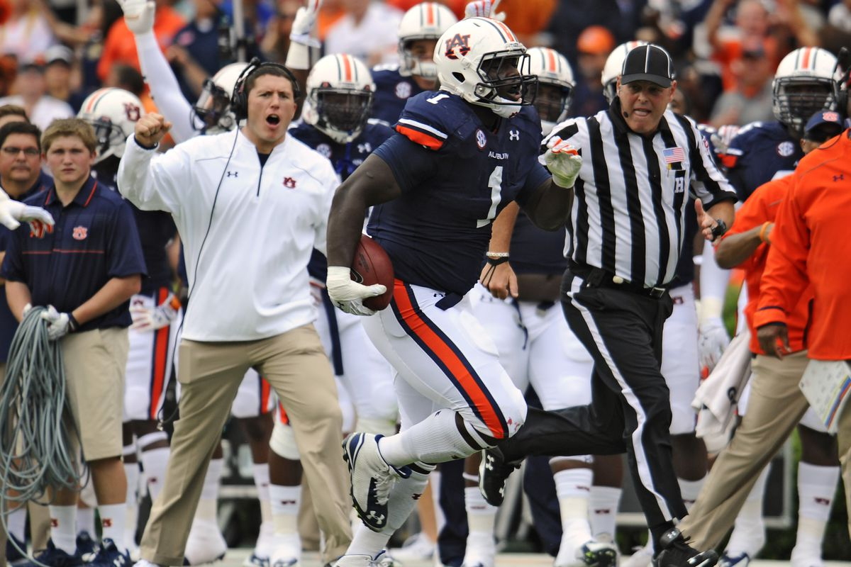 No, that's not Duke Williams. Words can't express my disappointment that Montravius didn't score on this play.