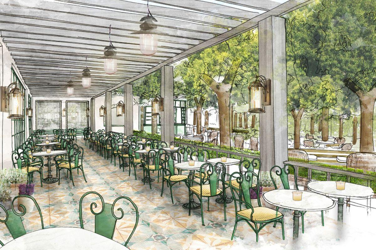 Primrose Restaurant Opening At Park Mgm Lobby Eater Vegas