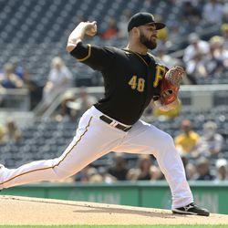 Bryse Wilson, Pirates starting pitcher on Saturday