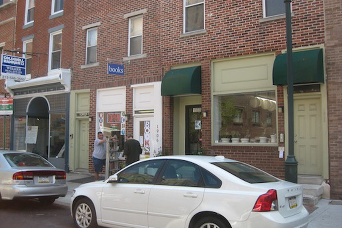 """South Street's new used bookstore. Image credit: <a href=""""http://NakedPhilly.com"""">NakedPhilly</a>"""