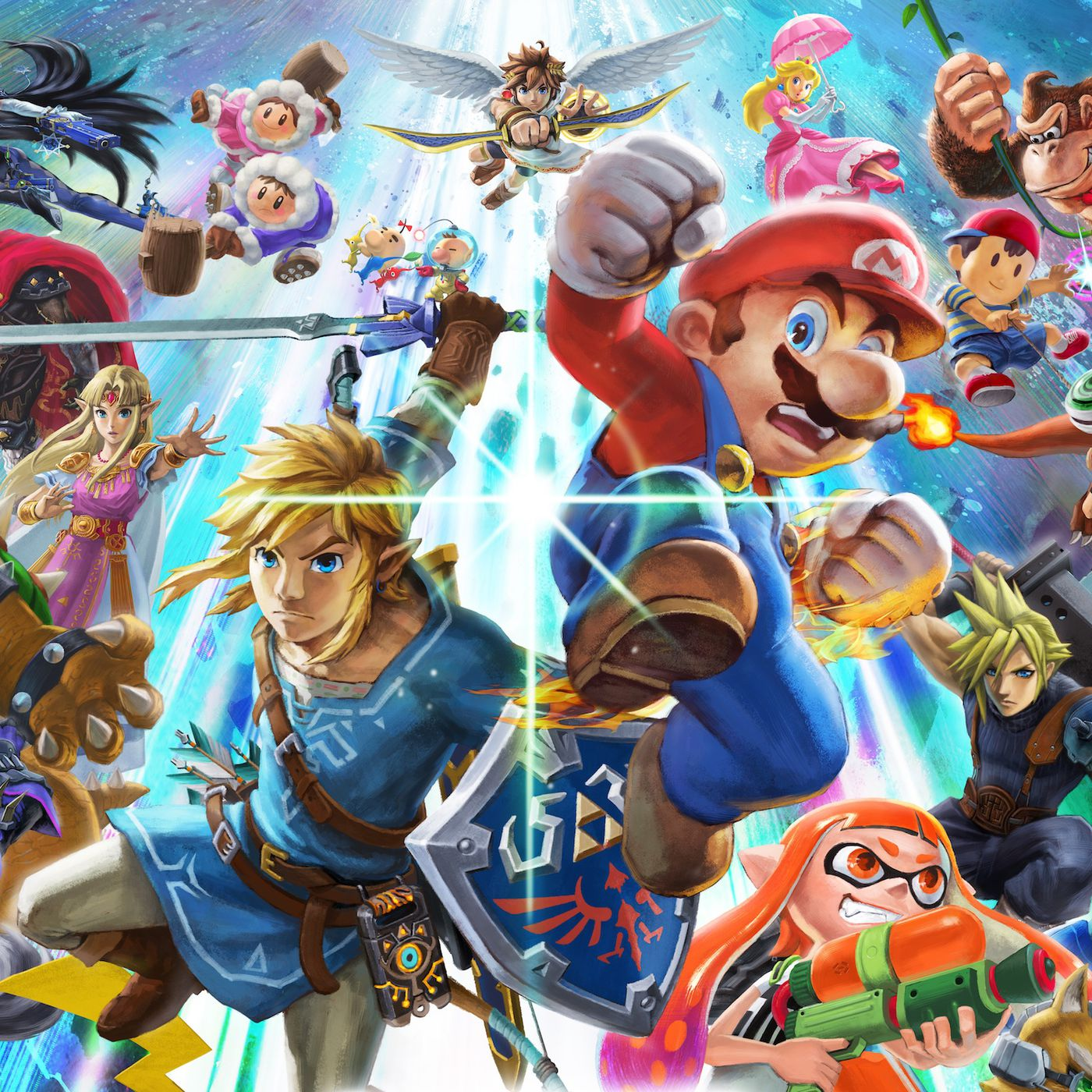 Super Smash Bros Ultimate Release Date Characters Stages