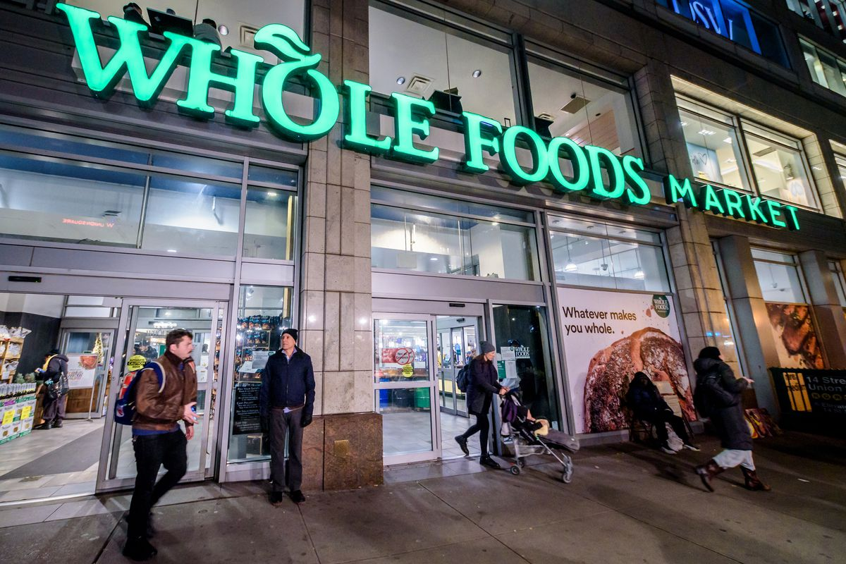 Whole Foods Market store front at Union Square...
