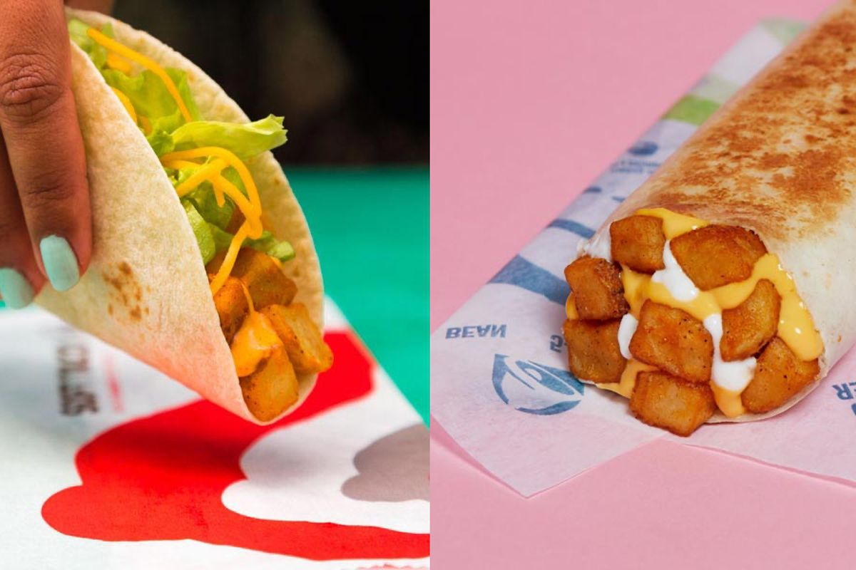 Taco Bell Confirms It S Axing Potato Items 7 Layer Burrito And More Eater