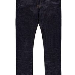 """If you're not at the office, or you work in a creative space where jeans are allowed, try slim-cut denim in a dark wash, like these <a href=""""http://us.suitsupply.com/trousers/blue-jeans-by-baldwin-b322/B322,en_US,pd.html"""">Baldwin Jeans</a> ($229 at Suitsu"""