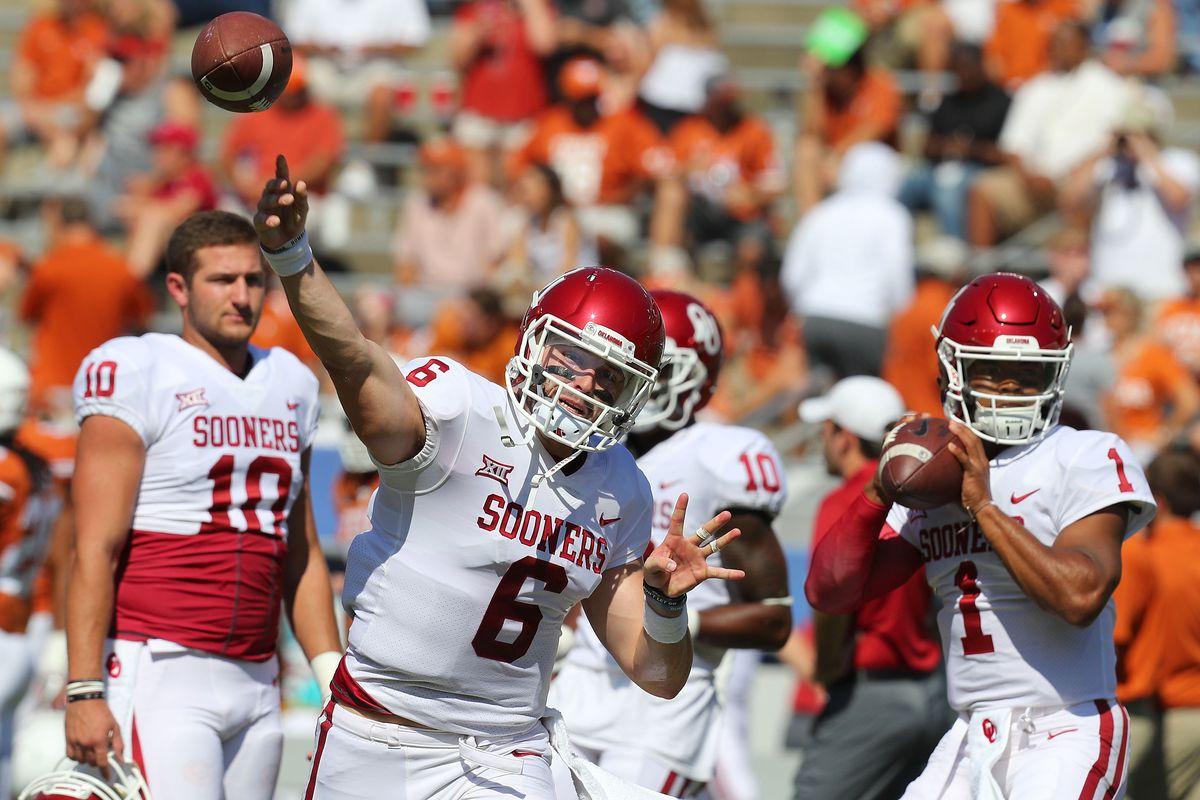 Oklahoma Football: Brock Vandagriff welcomed by Heisman QBs, Baker Mayfield voices distaste for Sam Ehlinger