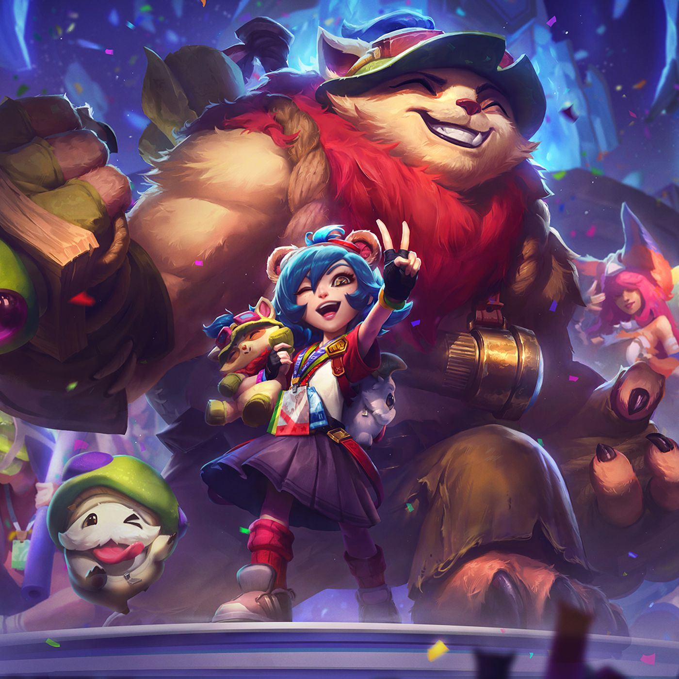 League Of Legends New Annie Versary Skin Turns Tibbers Into Buff Teemo The Rift Herald