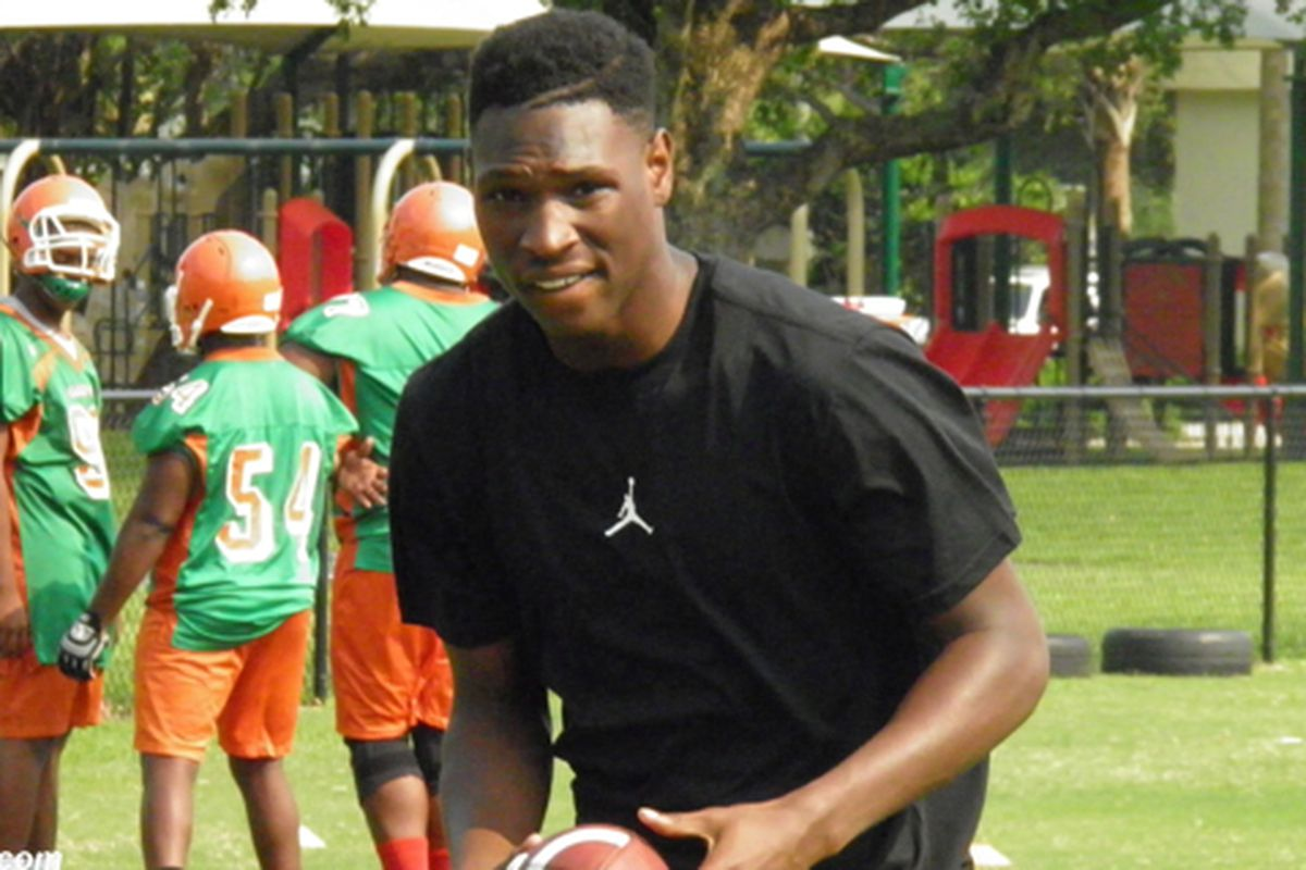 Canes land another local player, this time Blanche Ely WR Therell Gosier II
