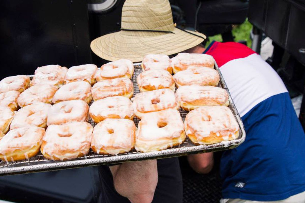 Astro Doughnuts at last year's Sweetlife festival.