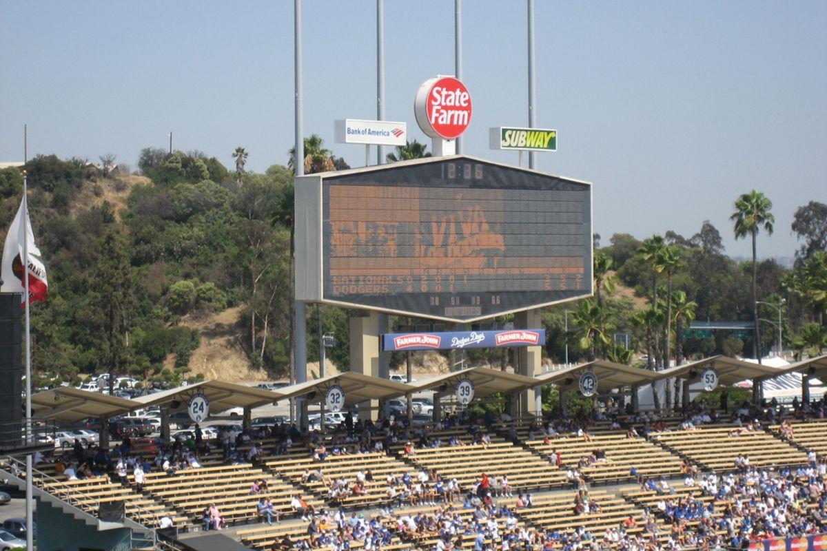 Sunday, Aug. 8, was Viva Los Dodgers Day at Dodger Stadium.  Photo by Jose M. Romero