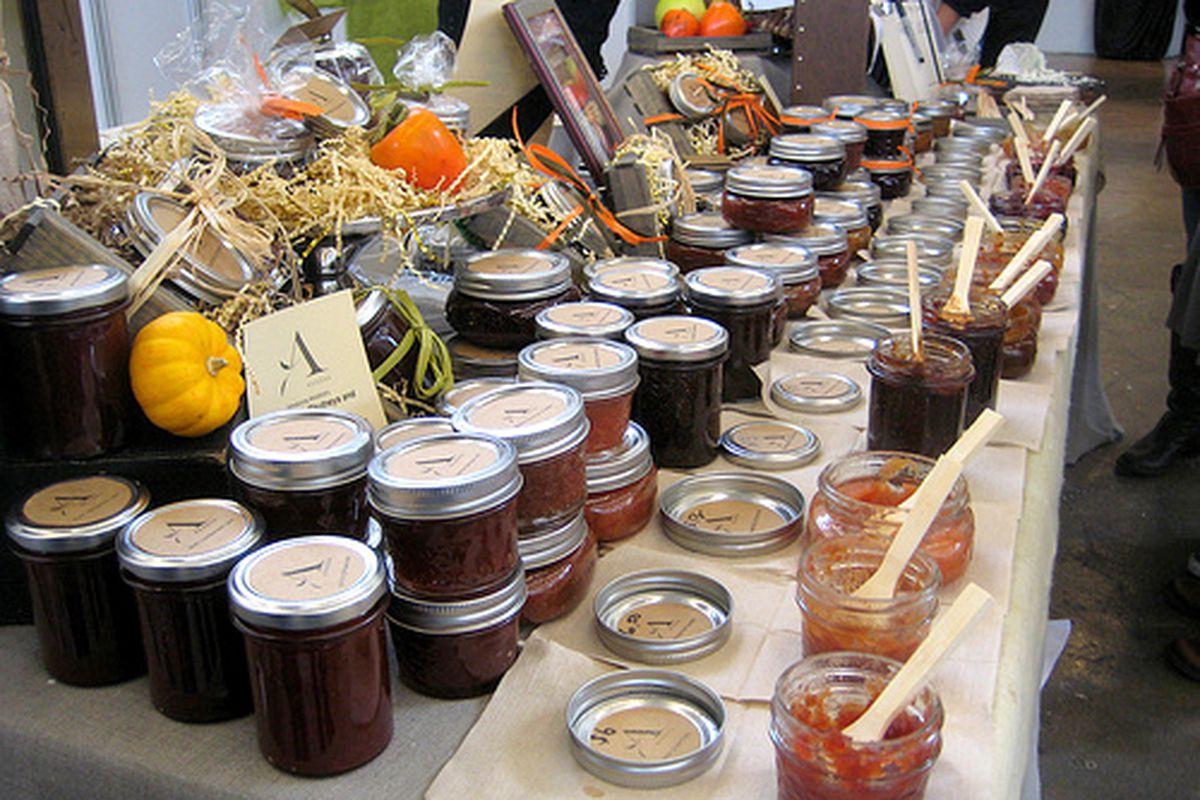 Artisanal Organic Jams at Artisanal LA