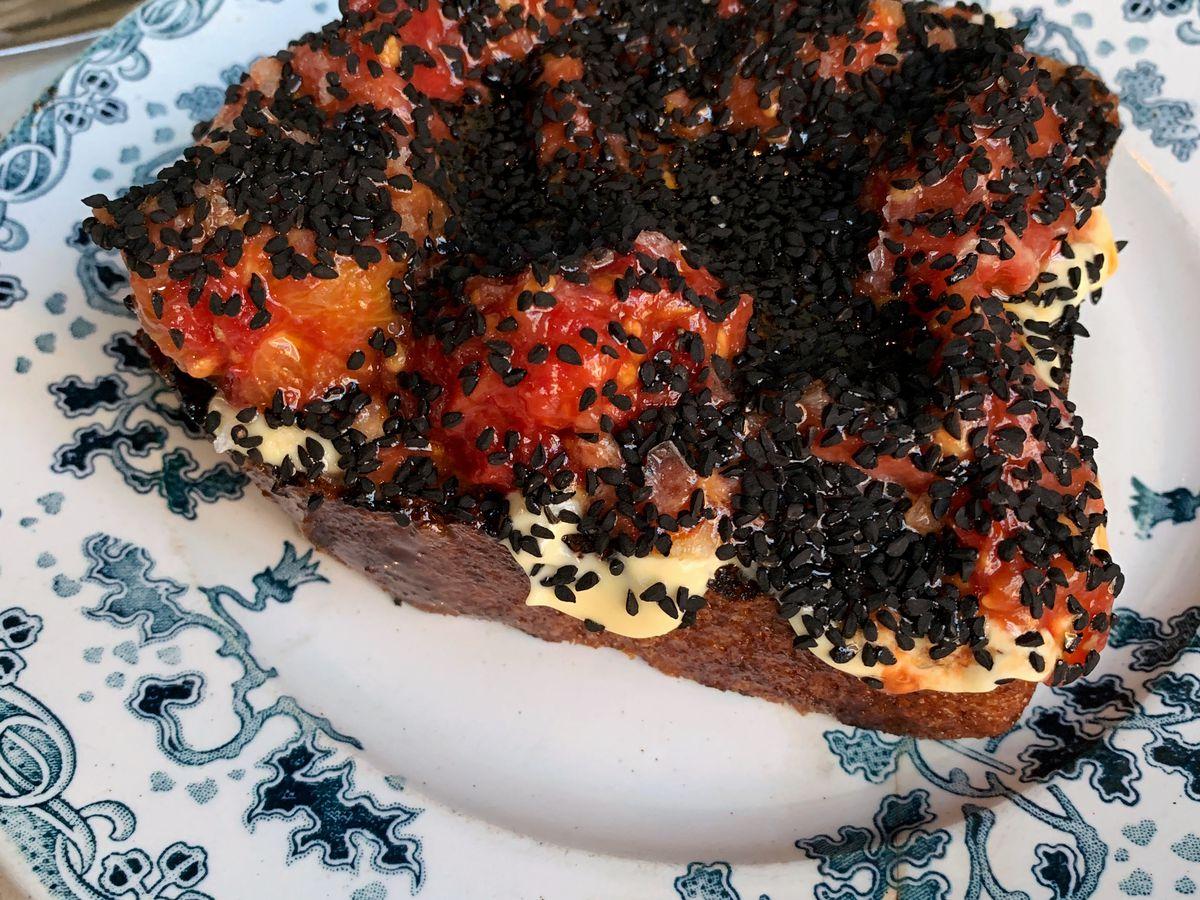 Peninsula tomato toast