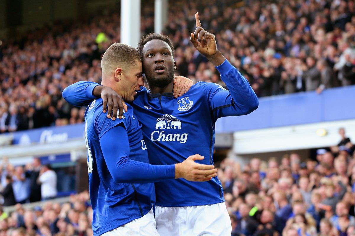 Ross Barkley and co. helped Romelu Lukaku have one of his best performances of the season.