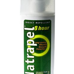 8 Hour by Natrapel repels mosquitoes.