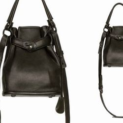 """<b>Opening Ceremony</b> Pop-Up Bag in Black, <a href=""""http://www.openingceremony.us/products.asp?menuid=2&catid=24&subcatid=56&designerid=6&productid=73786"""">$450</a>"""