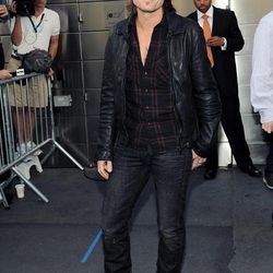 """""""American Idol"""" Season 12 judge Keith Urban arrives for day one auditions at Jazz at Lincoln Center on Sunday, Sept. 16, 2012 in New York."""