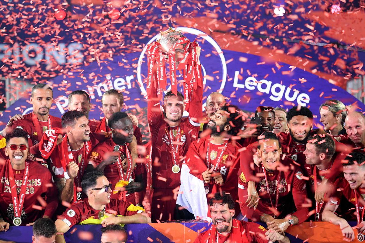 Watch: Liverpool Lift the Premier League Trophy - The Liverpool Offside