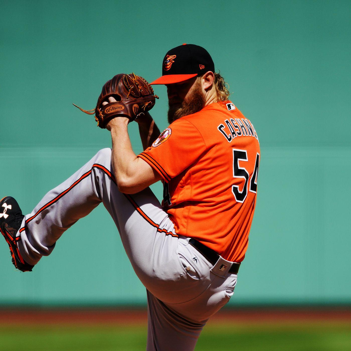 Andrew Cashner Baltimore Orioles Spring Training Baseball Player Jersey