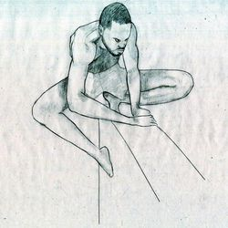 A figure drawing BYU undergraduate Hannah Carver submitted with her application to the school's competitive animation program