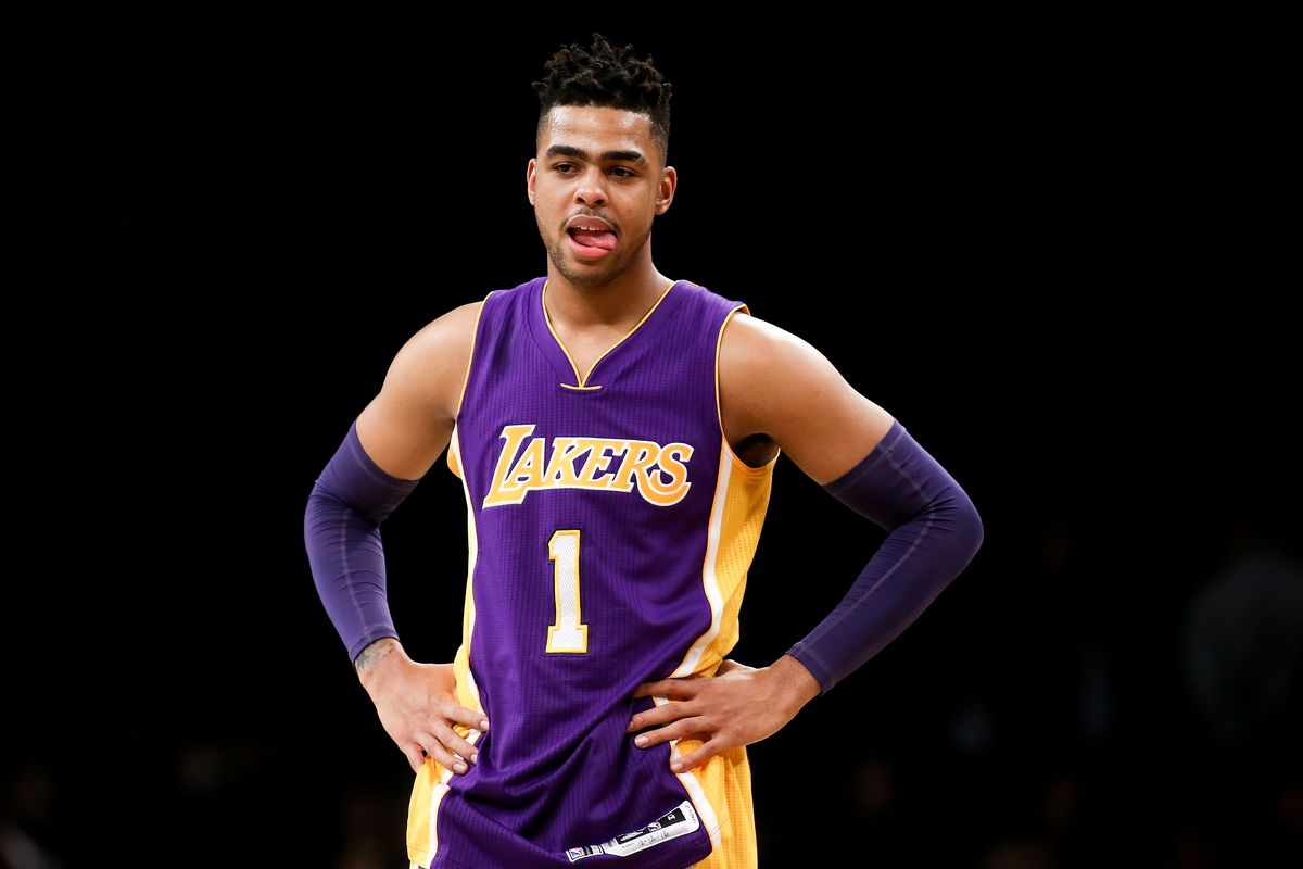D'Angelo Russell feels just fine that the Lakers traded him to the ...