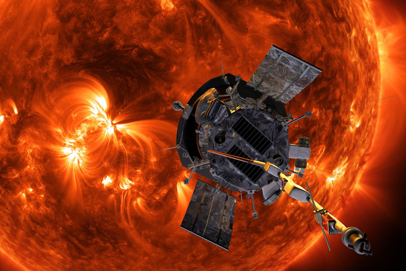 nasa s newest spacecraft will fly through the sun s scorching hot atmosphere