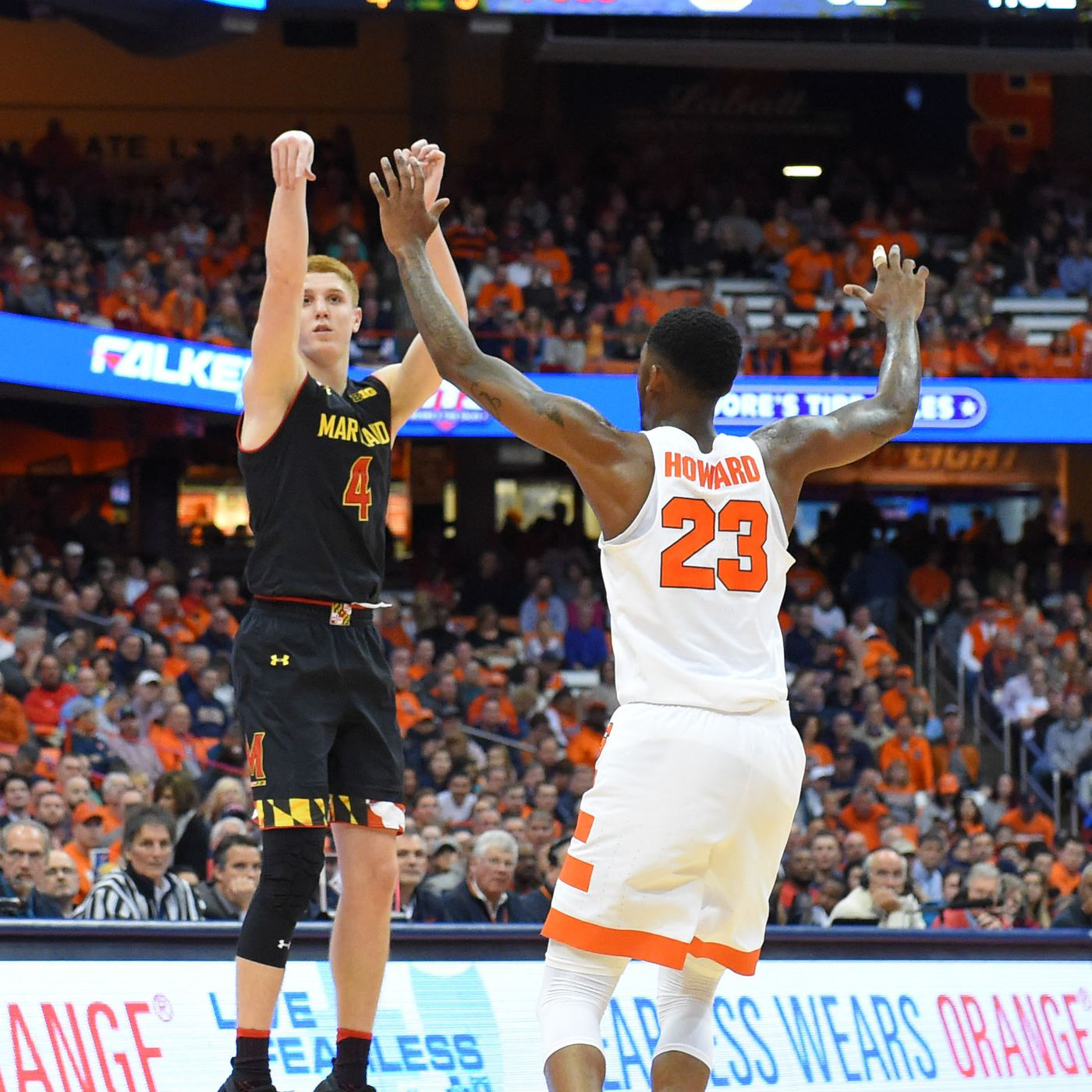 Maryland Men S Basketball Comes Up Short At Syracuse In 72