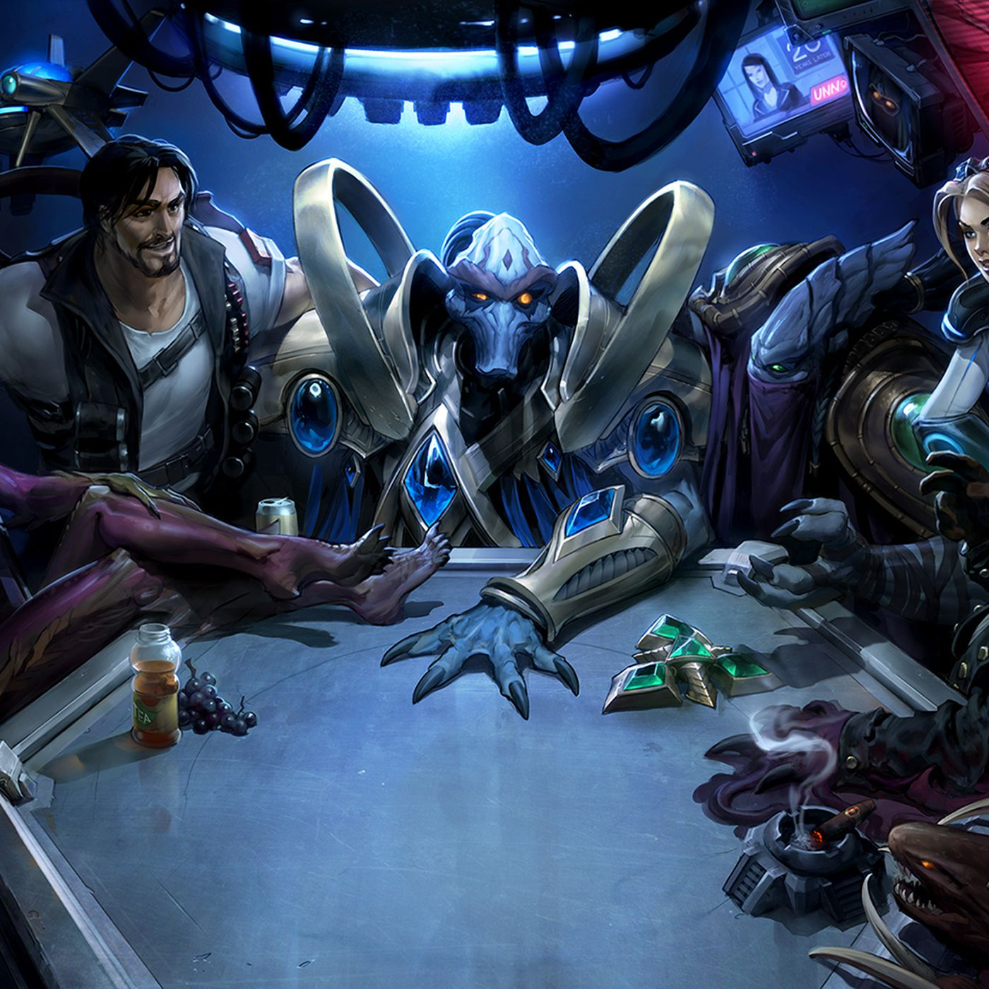 Blizzard Celebrates Starcraft S 20th Anniversary With In