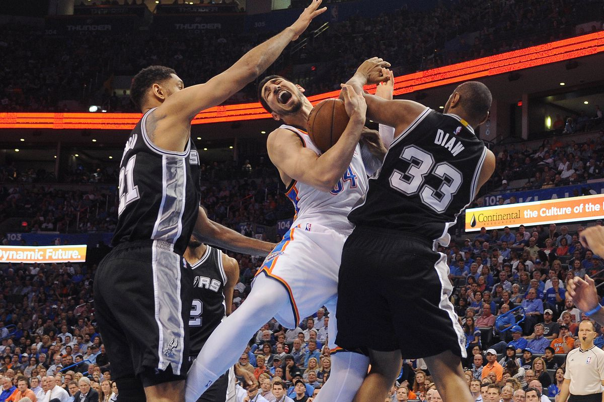 When things get rough in the post, Kanter rarely if ever gets going
