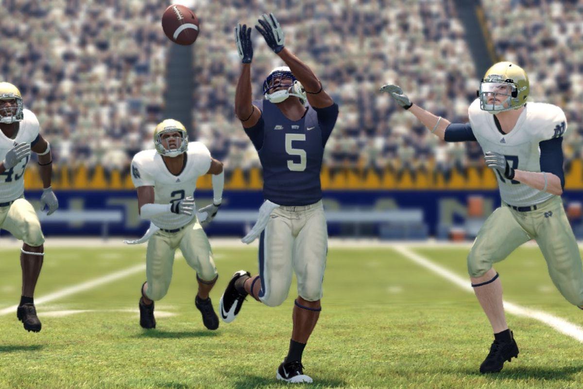 Pitt screenshot for EA Sports' NCAA Football '13