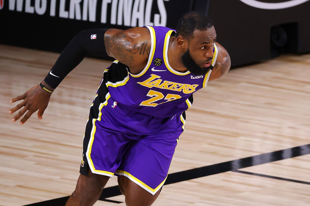 Los Angeles Lakers Advance To 2020 Nba Finals Behind 38 Point Triple Double From Lebron James Draftkings Nation