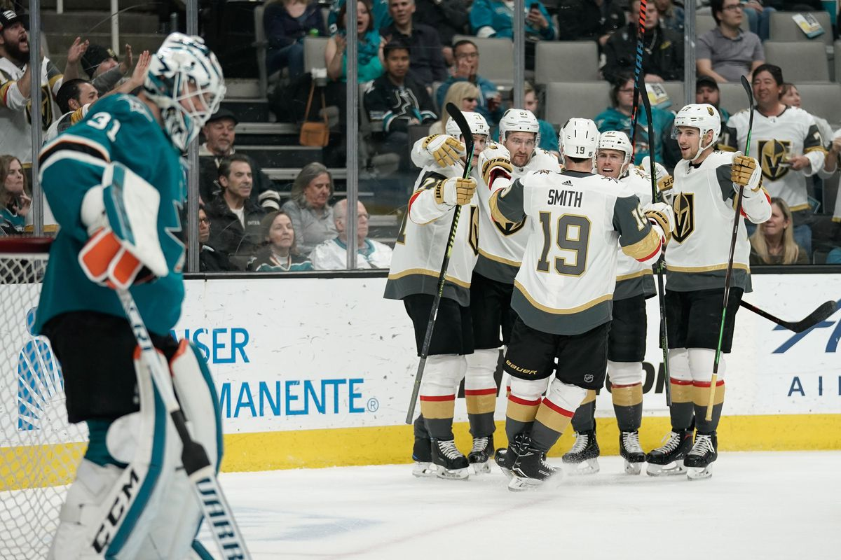 d8b0c2829ef Year 2, Game 73: Golden Knights overcome rough start in 7-3 win ...