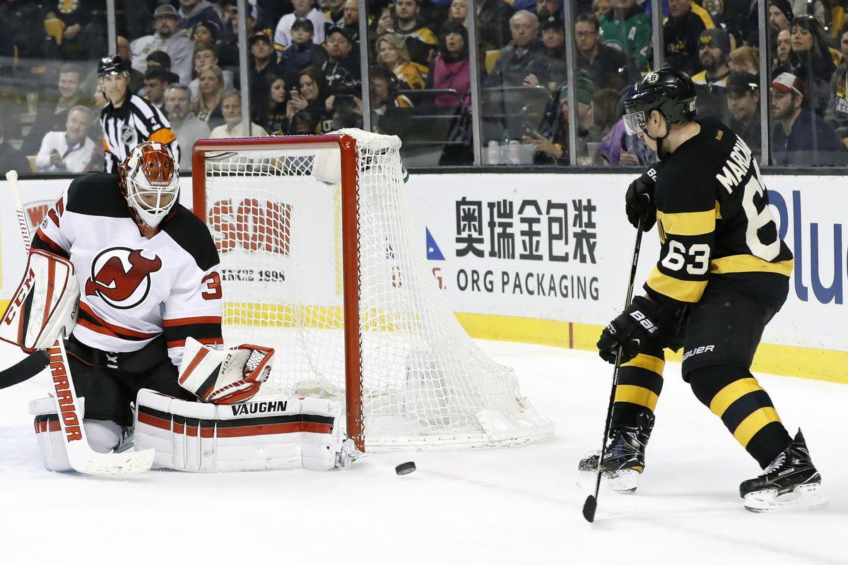 NHL: MAR 04 Devils at Bruins
