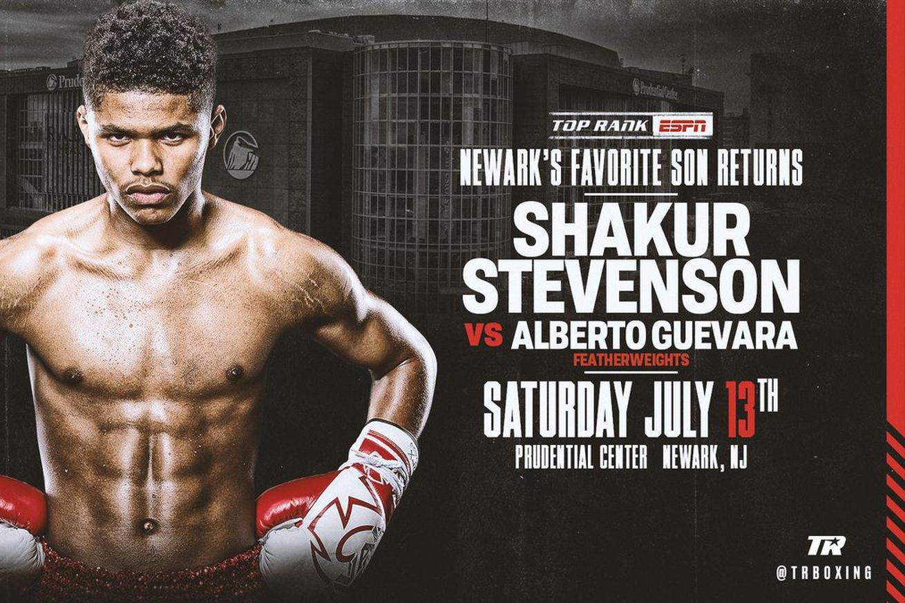 D vNJxKUwAAox8X.0 - Stevenson gets another July 13th opponent in Guevara