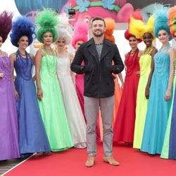 Justin Timberlake, with some actual trolls.