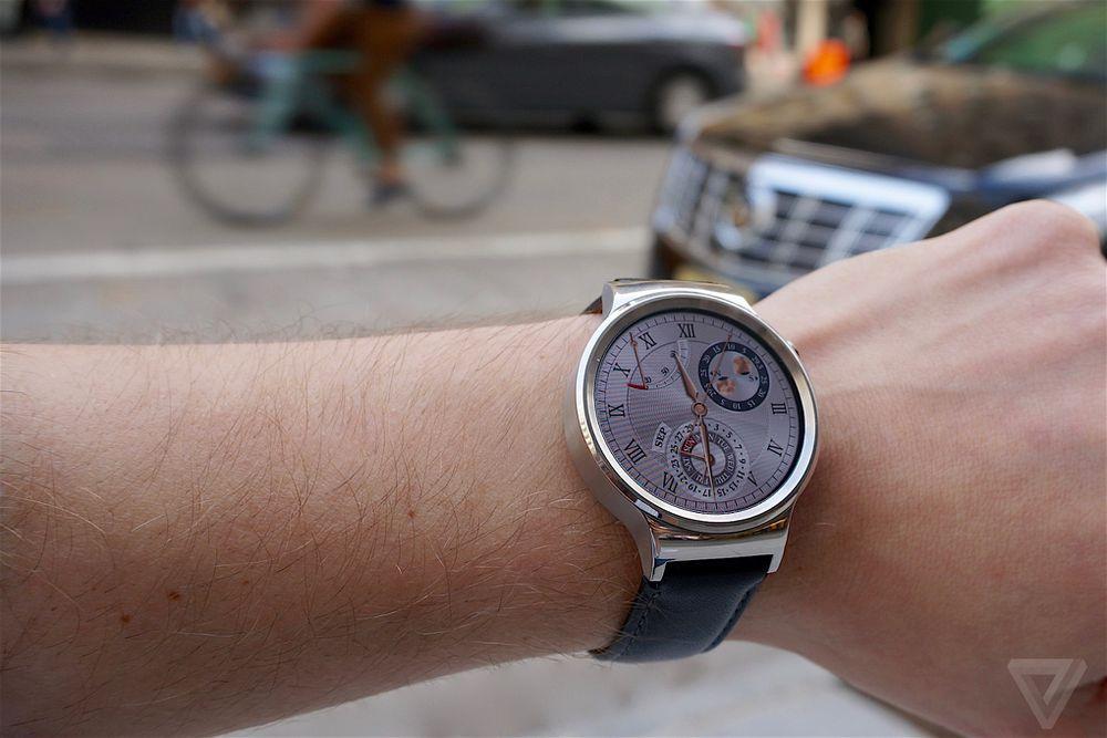 Huawei Watch review: Gordon Gekko gets a smartwatch | The Verge
