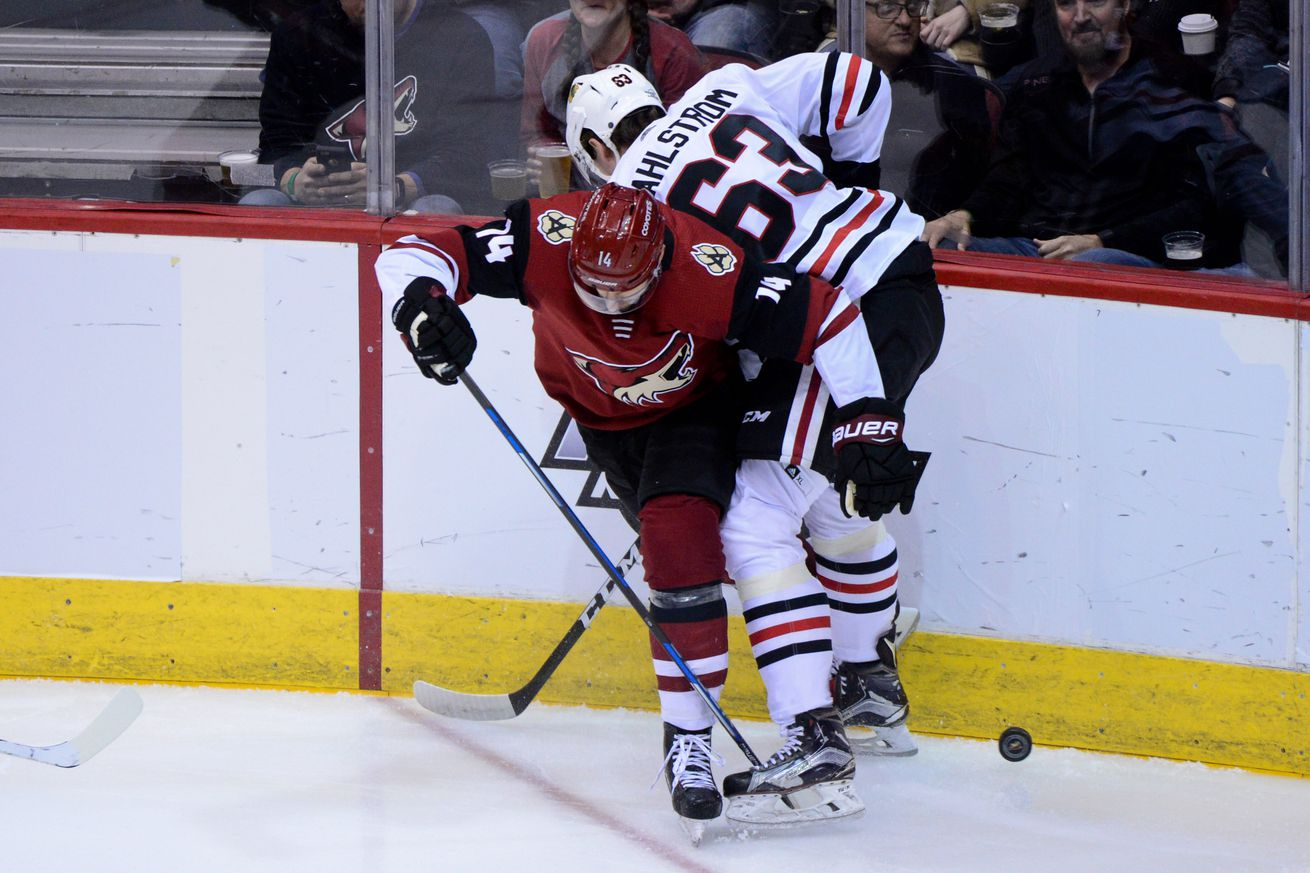 Blackhawks vs. Coyotes game thread: Part 1