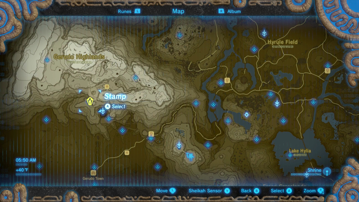 Zelda Breath Of The Wild Guide Luminous Stones Polygon
