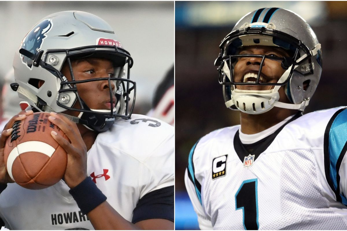 outlet store 0b781 7276a Cam Newton little brother Caylin is a Howard star, so Cam's ...