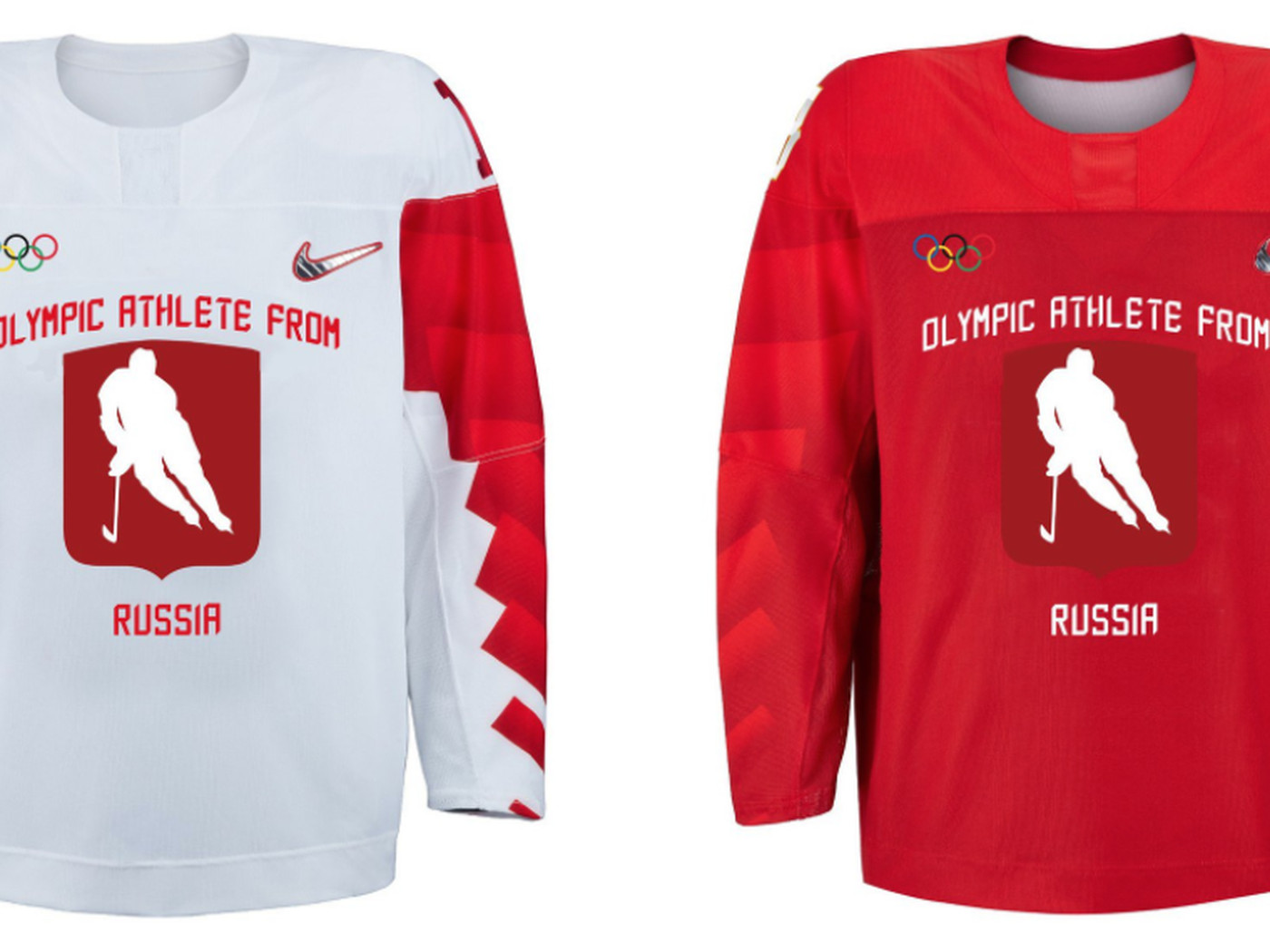 Russia s neutral Olympic hockey jerseys may have leaked 805ce4e18bd