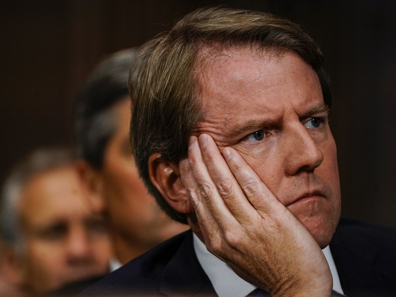 Don McGahn during the Kavanaugh hearings.