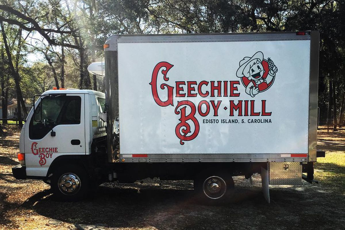 Geechie Boy Mill is the site of the fish and grits supper.