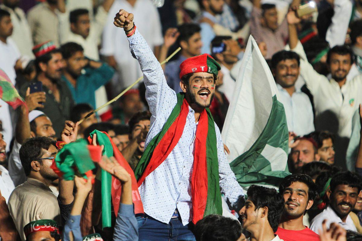 Pakistani rally