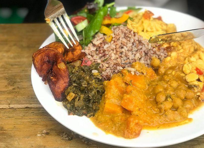 London's best Afro Vegan restaurants: Eat of Eden in Brixton