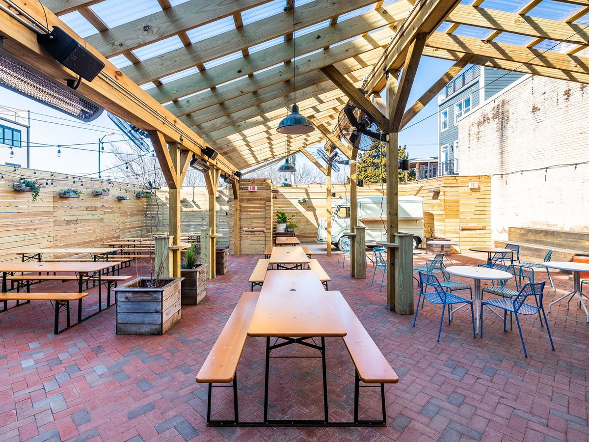 16 Beer Gardens With Terrific Brews Around D C Eater Dc