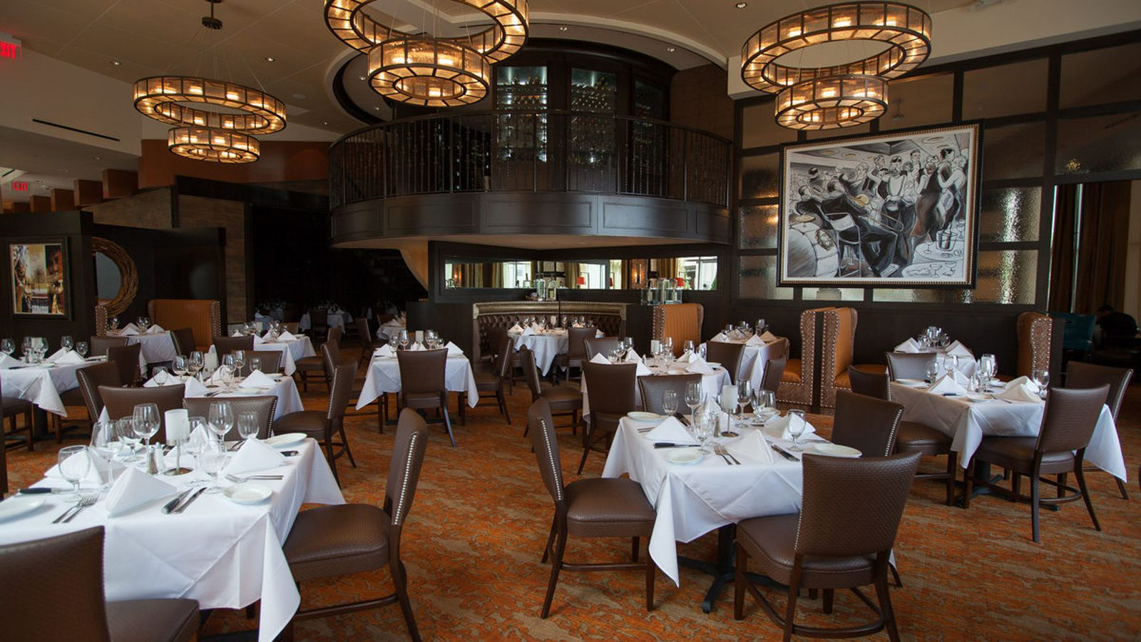 A Look Inside The New Ruth S Chris Steak House Eater Houston
