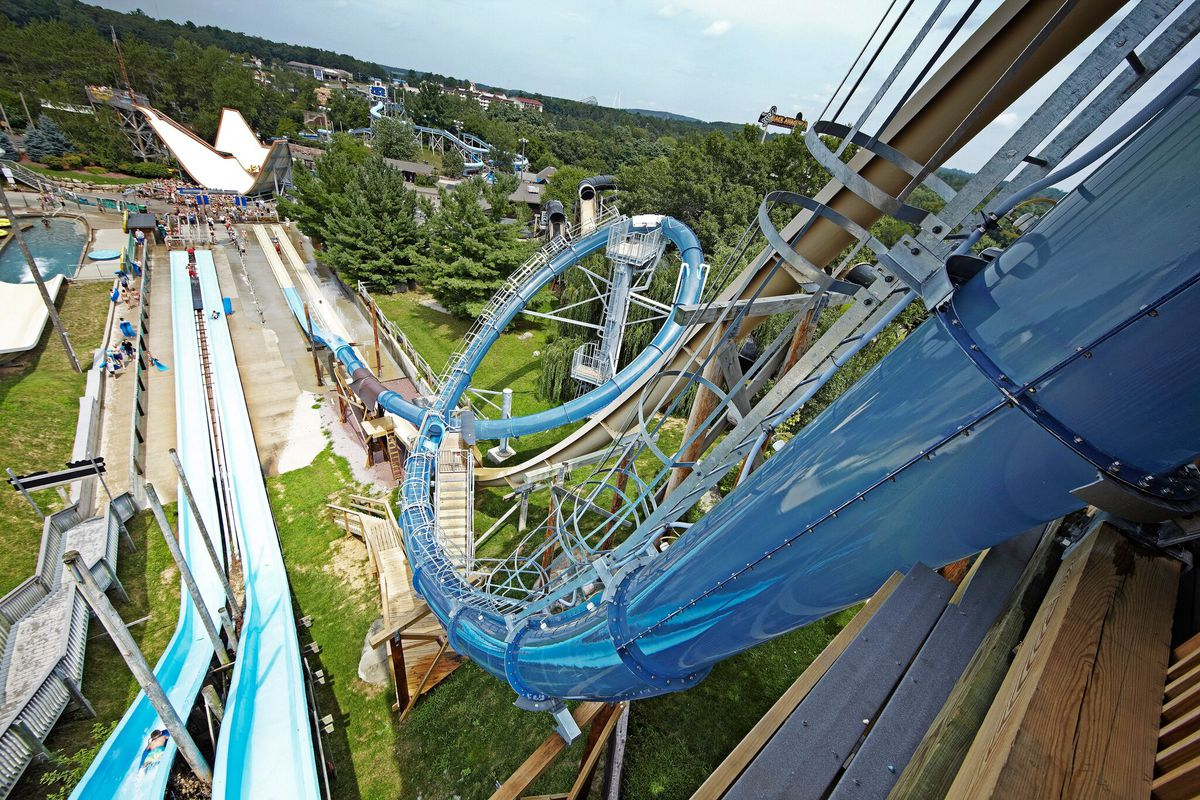 The Scorpion's Tail at Noah's Ark, Wisconsin Dells. | COURTESY WISCONSIN DEPARTMENT OF TOURISM