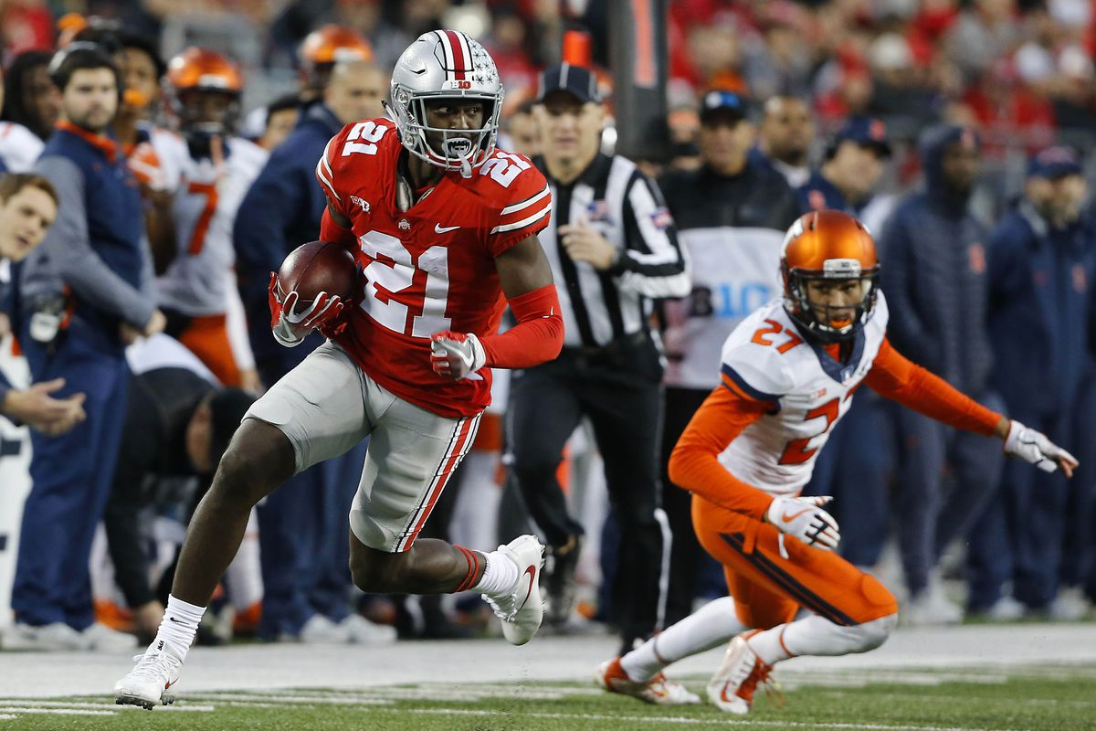e60d8dd1eea Does Ohio State football have any elite receivers  - Land-Grant Holy ...