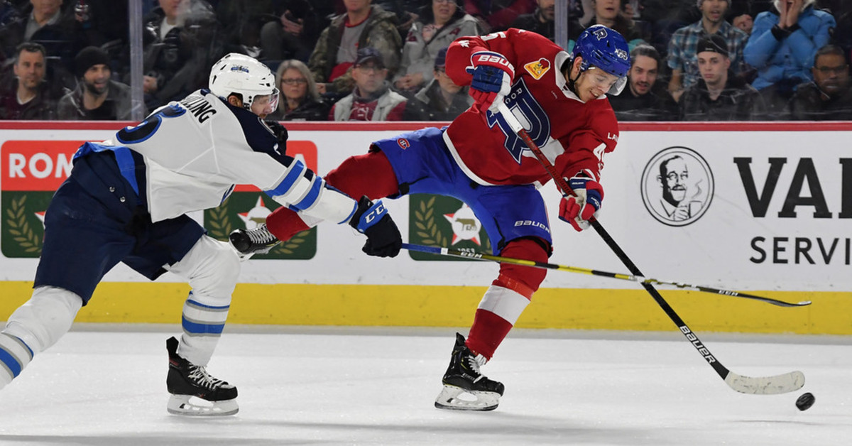 Jesperi Kotkaniemi continues to pile up assists with the Laval Rocket