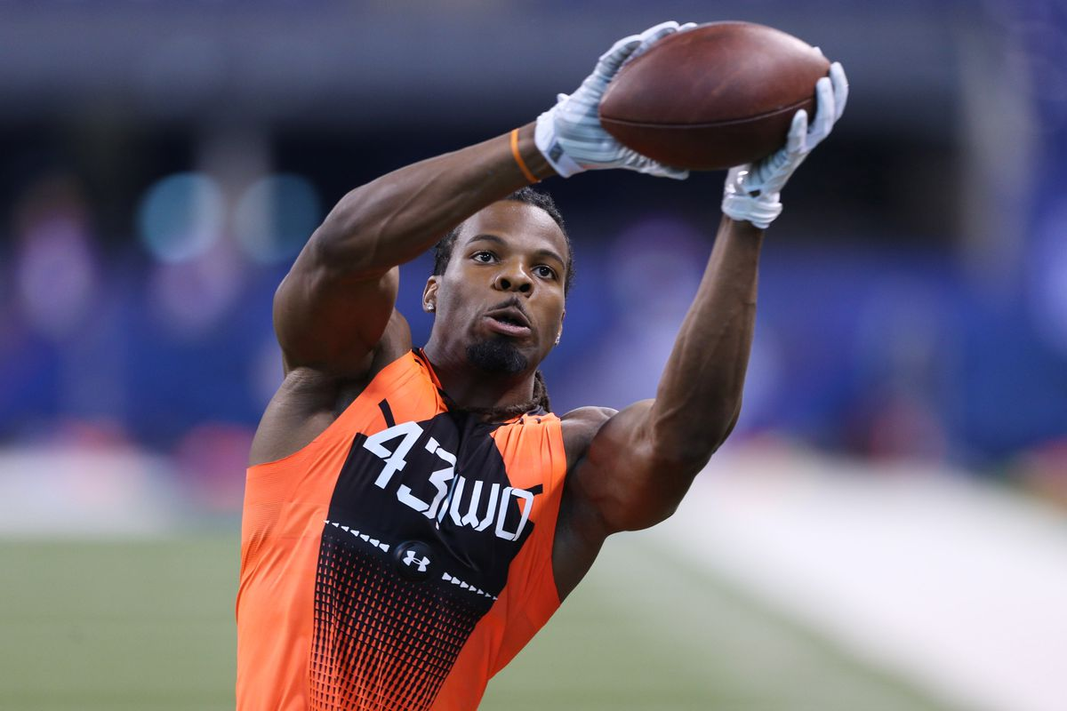 Kevin White at the Scouting Combine