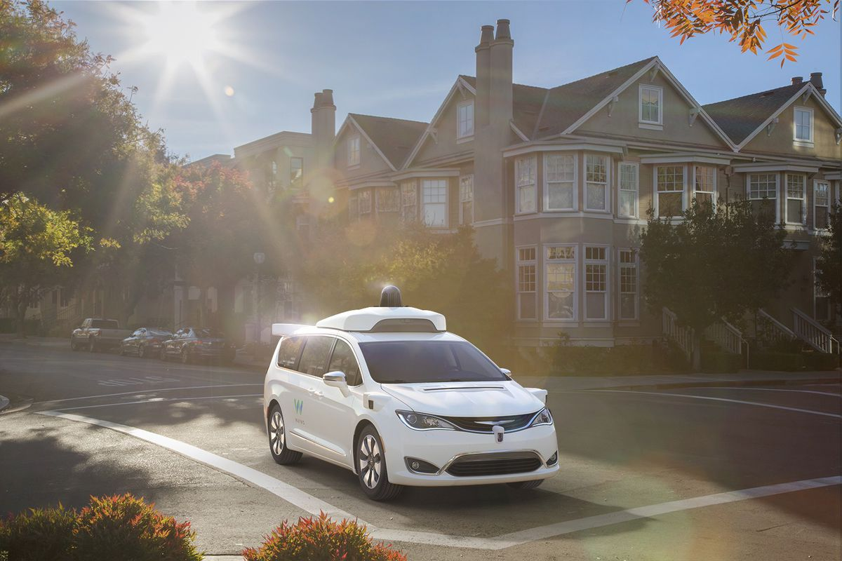 Driverless cars, such as this model by Waymo, could revolutionize transportation for Americans with disabilities